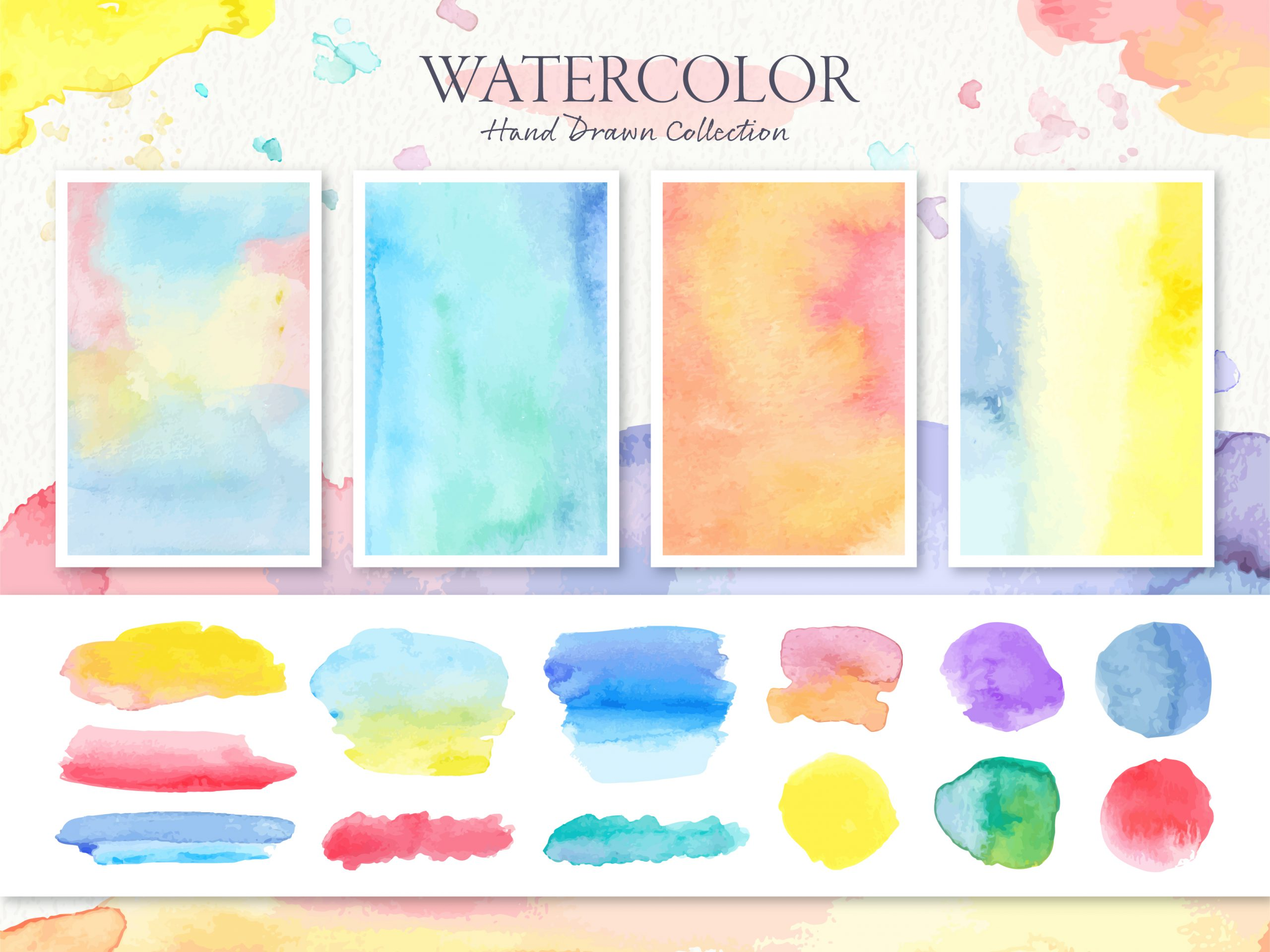 watercolor trend