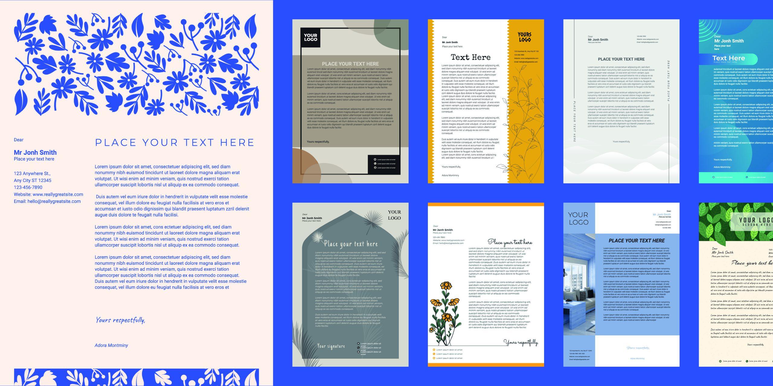 letterhead feature image