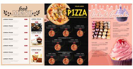 create a restaurant menu