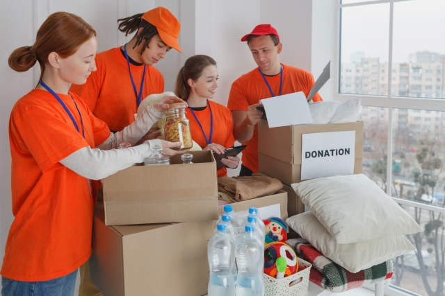 charity stock photo